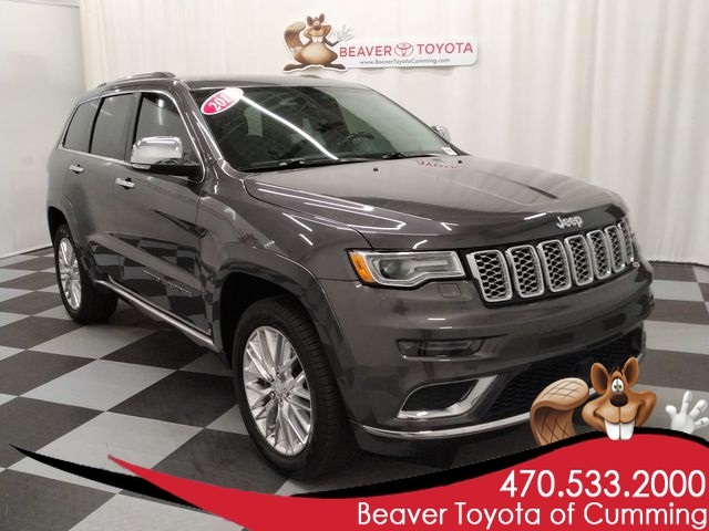2018 Jeep Grand Cherokee Summit >> Pre Owned 2018 Jeep Grand Cherokee Summit 4wd 4d Sport Utility