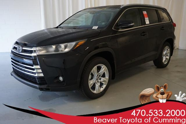 New 2019 Toyota Highlander Limited V6 Awd Sport Utility In Cumming