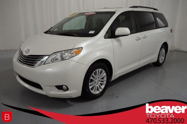 certified pre owned 2017 toyota sienna xle fwd 8 passenger mini van rh beavertoyotacumming com toyota sienna passenger side mirror glass replace toyota sienna side mirror glass