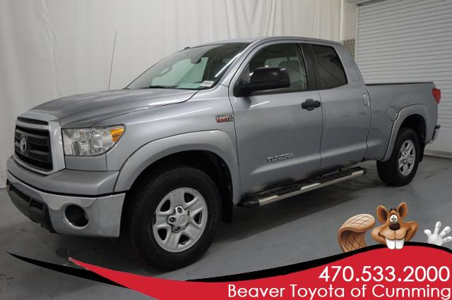Pre-Owned 2012 Toyota Tundra 2WD Double Cab 5.7L V8 6-Spd AT