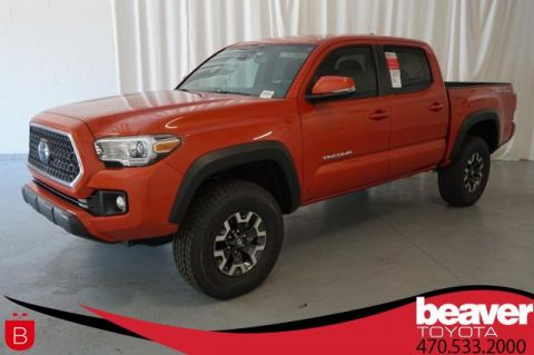 New 2018 Toyota Tacoma TRD Off Road Double Cab 5' Bed V6 4