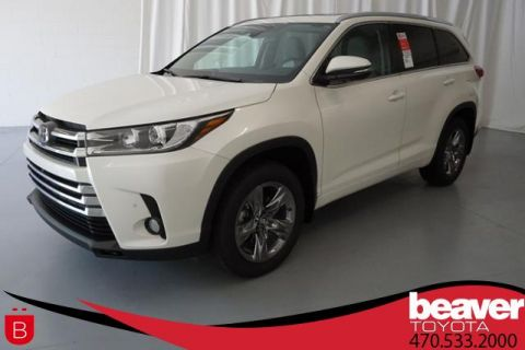 New 2018 Toyota Highlander Limited Platinum V6 AWD
