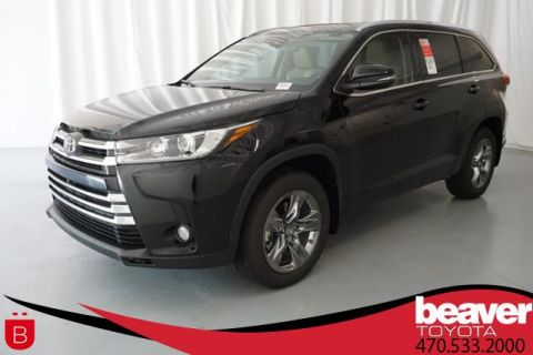 New 2018 Toyota Highlander Limited Platinum V6 FWD