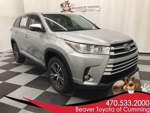 New 2019 Toyota Highlander LE Plus FWD 4D Sport Utility